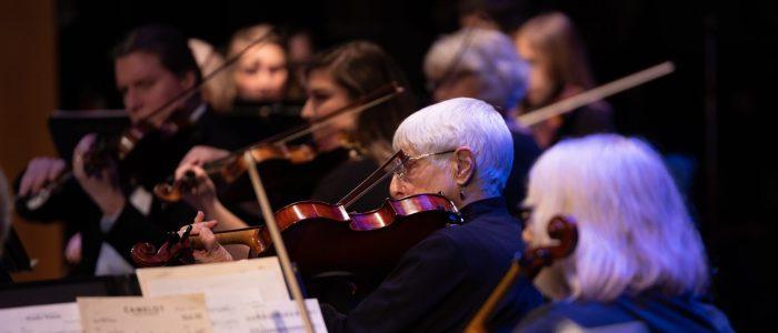Violas and Violin 2